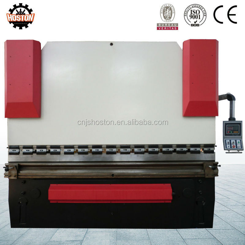 Jiangsu CNC Hydraulic press brake machinery standard configuration export to worldwide