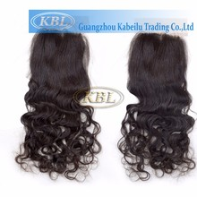 100% natural mono top closure, free style lace closure, closure property hair extension