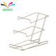 3 Tiers Metal Wire Back Potato Chip Snack Counter Sticker Display Rack