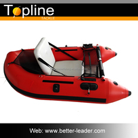 PVC Most Economical Leisure Mini Inflatable Boat /Yacht Boat For Sale