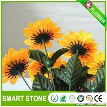 Cheap Price Long Life 16head Plastic Wild Bulk Artificail Flowers