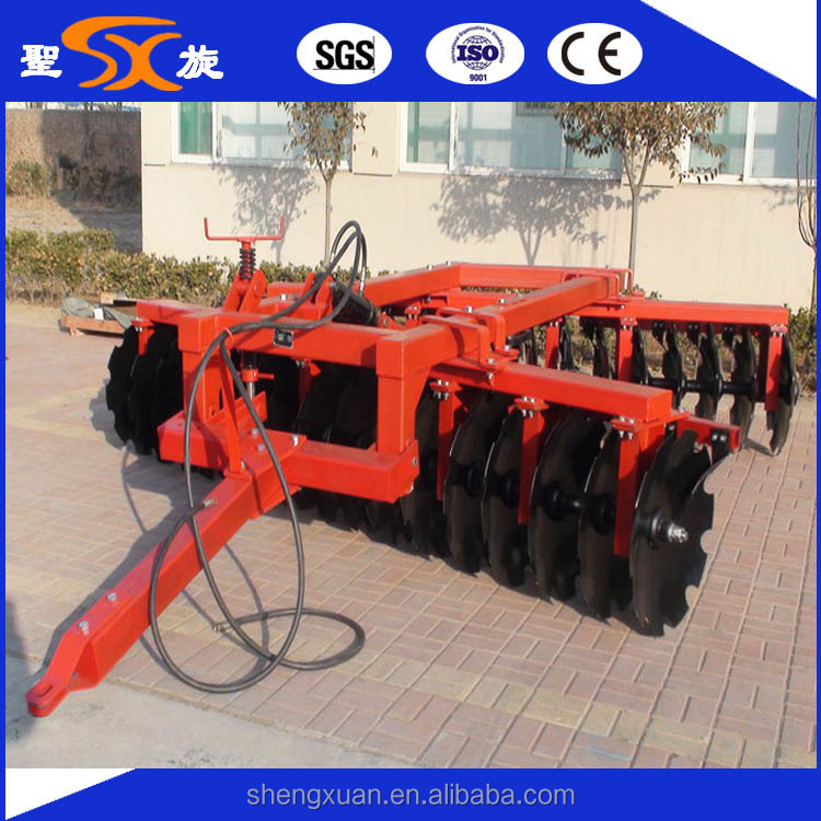 3-point hydraulic heavy duty disc harrows factory price