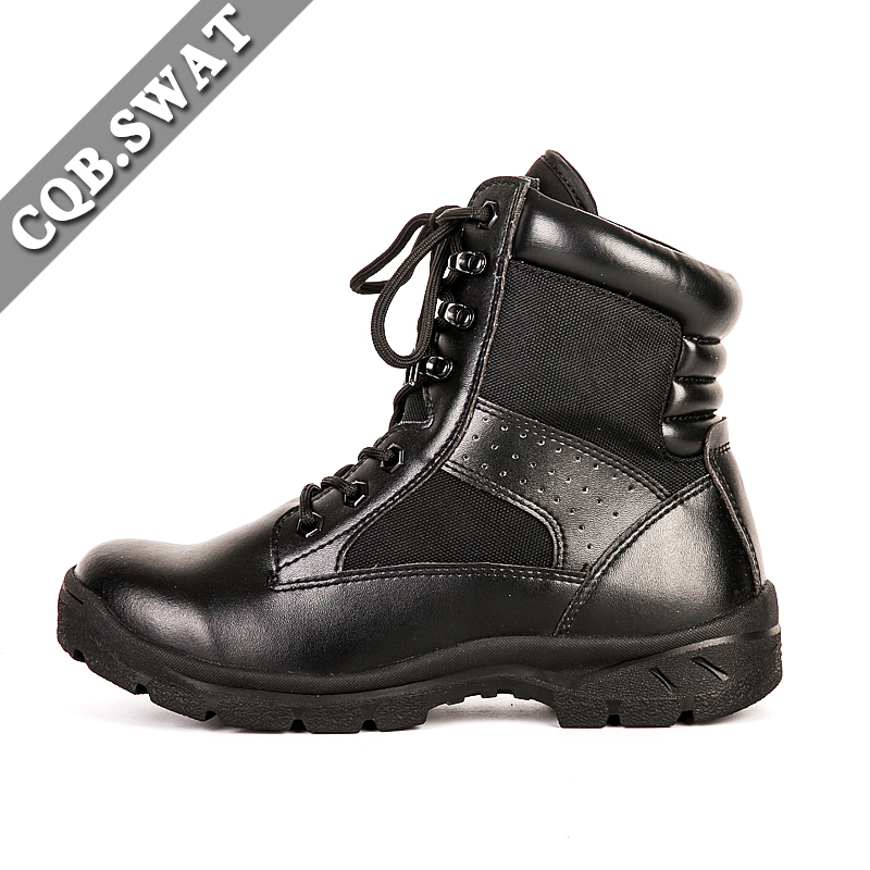 CQB.SWAT Original Tactical Swat Boots Leather Military Combat Boots