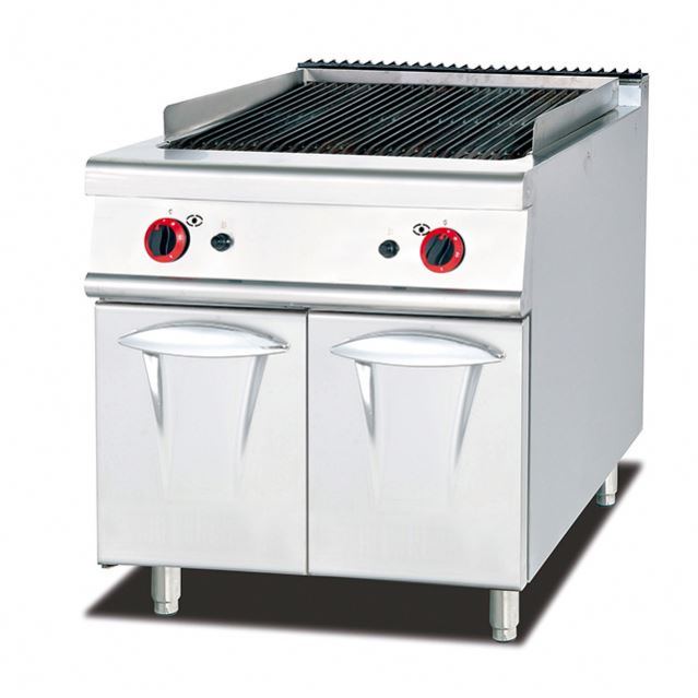 Restaurant Commerical Kitchen Equipment/Gas Lava Rock Grill