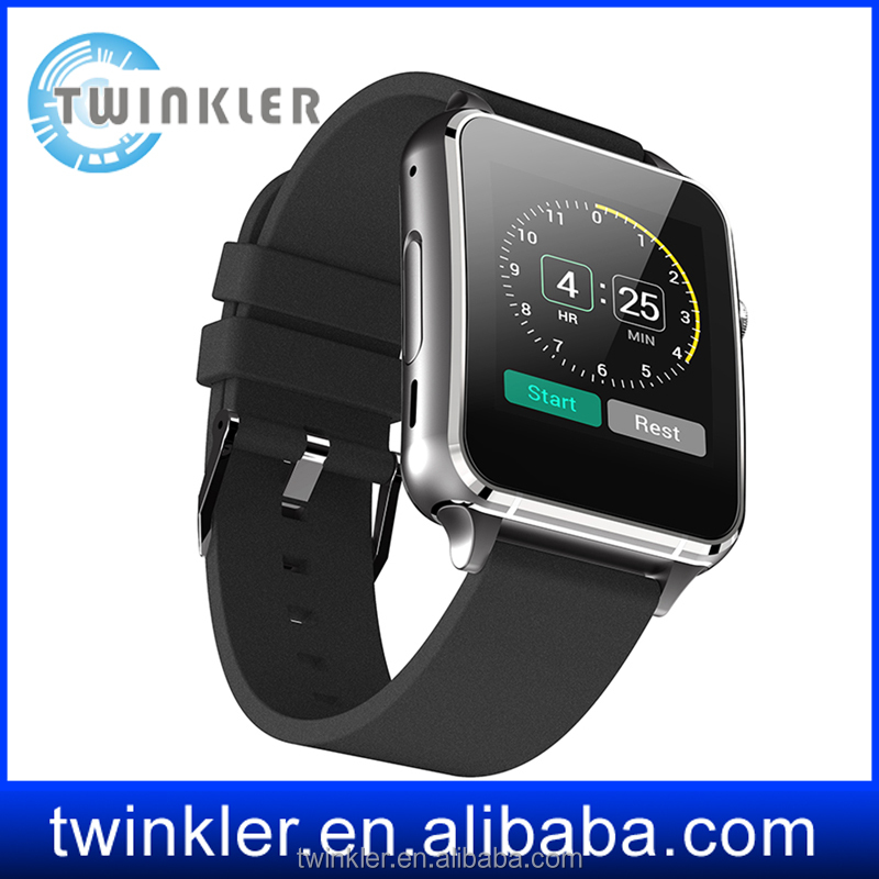 latest wrist watch mobile phone man's style watch heart rate monitor sync sms call reminder smart watch