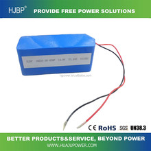 lithium ion battery pack 18650 4400mah 14.8v 12v rechargeable li ion cylindrial batteries for electronic toy cars