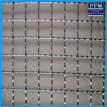 Stainless Steel Crimped Wire Mesh / Square Wire Mesh / Woven Wire Mesh