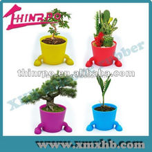 China manufacturer silicone flowerpots customized silicone rubber bucket with good quality and cheap price