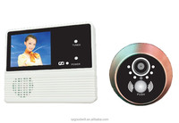 Mini door viewer 2.4inch LCD with lager angle good night vision clear picture