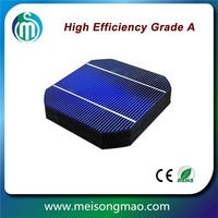2BB solar cell 156*156mm Monocrystalline silicon photovoltaic cells