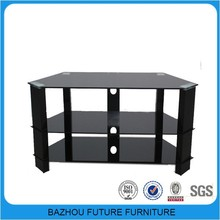 Home furniture used glass new model cheap modern lcd led tv stand furniture