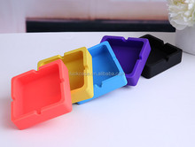 New invention heat-resistant silicone pocket ashtray, wholesale non-broken silicone customized ashtray for sale