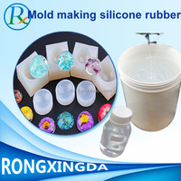 rtv-2 liquid silicone rubber for jewellery molding making raw material