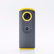 2 lens 360 degree wild angle view fisheye action camera