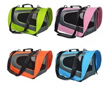 Queena Portable Pet Care Travel Bedding Safety Lock Seat Cat Dog Box
