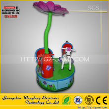 indoor amusement rides sale of carousel electronic horses ride plastic for sale