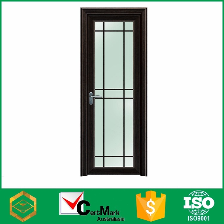 Cheap alu rustic glass bathtub door , swing model of door to room