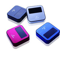 imprssive power bank cross 2600mah digital lcd screen power bank mifi hotspot with mini size
