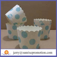 Nice quality disposable paper cup cake cases