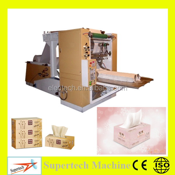 High Speed Automatic Box Drawing Facial Tissue Paper Machine Price