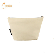 Gusseted White Bags Promotion cosmetic bag Zipper Pouches Cosmetic