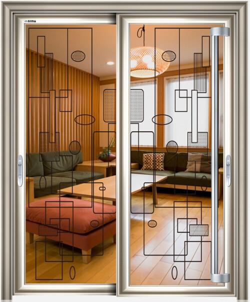Puerta corredera de vidrio esmerilado exterior puertas - Puertas correderas exterior ...
