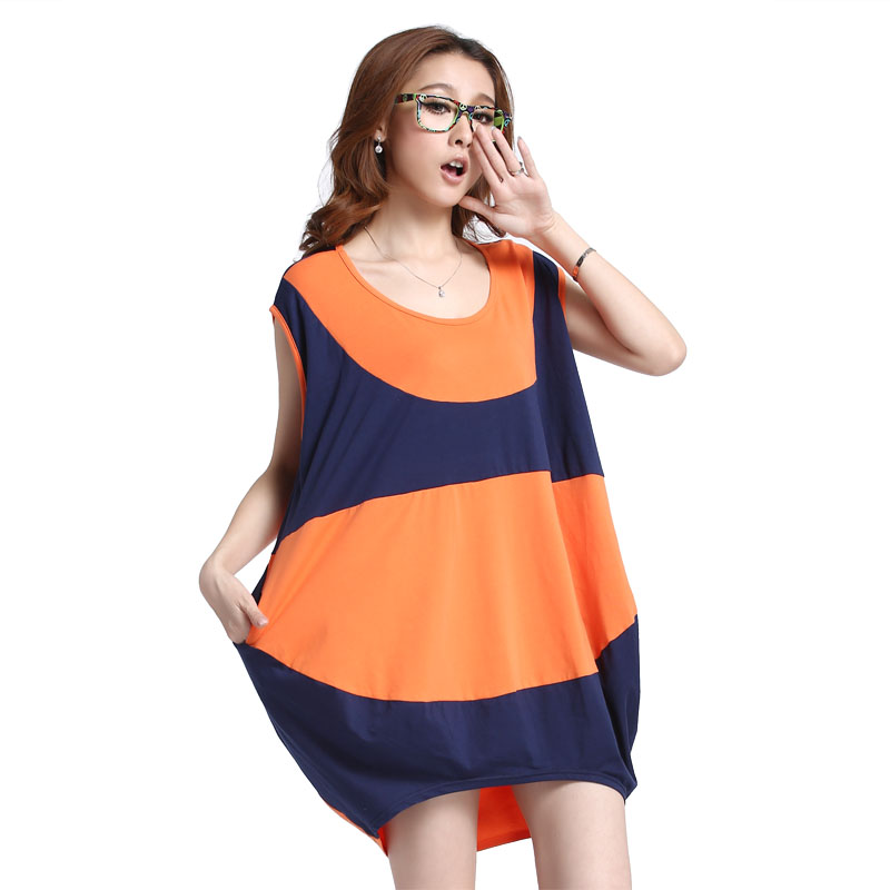 Beauty 2013 maternity clothing summer fashion plus size t-shirt long t-shirt 100% cotton top summer maternity clothing