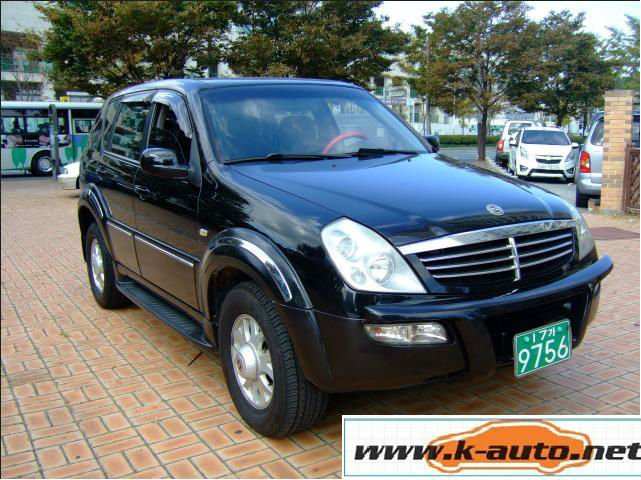 used car new rexton 4WD