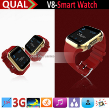 New Cheap 1.54inch Bluetooth V8 Smart Watch with Selfie Function Touch Screen China Smart Watch Phone Hot Wholesale C