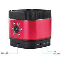 high quality surveillance camera bluetooth Speaker with night vision sd card