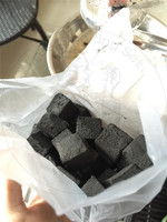 TTAN0031 coconut shell charcoal made in china 100% low coconut ash content 3% white ash shisha charcoal