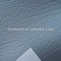 Grey PVC Artificial Leather Automotive Leather For Car Seat