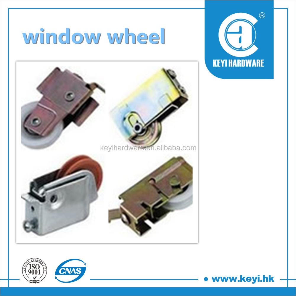 2015 hotsliding wardrobe wheel / steel sliding door rollers wheel / sliding door hanging wheel factory price