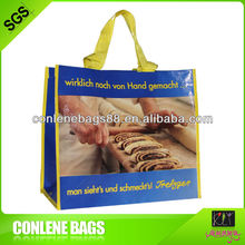 pp woven bread bag for restaurant