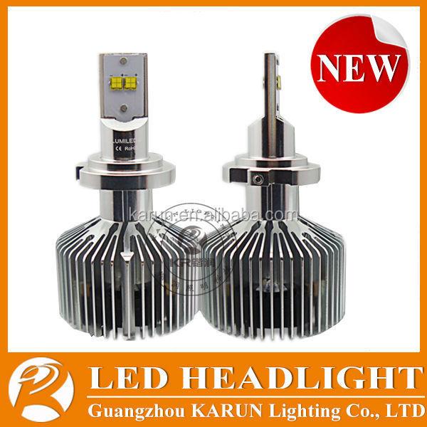 Super bright LED lampadas h7 LED chips 5000k White 6000K 4000K 4500LM