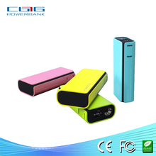 Colorful 5200mah Backup Battery Power Bank, external phone battery for Mobile Phone,digital devices