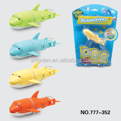 hot sale battery operated plastic swimming fish toy robotic fish toy