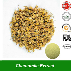 Private Label Chamomile Extract with Apigenin Powder Natural Plant Extract Wild Camonile Extract for Gastrointestinal Benefit