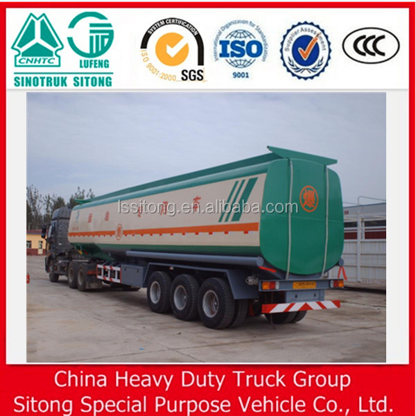 China New fuel tanker prices , truck aluminum fuel tanks , fuel tanker truck capacity 40-50cbm