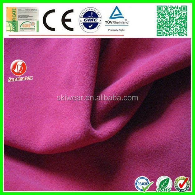 Worsted Merino anti-static wool polyester blend suiting fabric