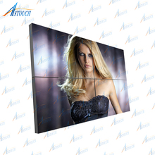 55 inch led tv LG 55'' ultra-narrow seamless Bezel 1x4 lcd digital signage player video video wall