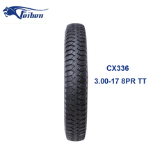 Chinese Top Brand Motor Motorcycle Tyre For Tricycle Tyre 3.00-17