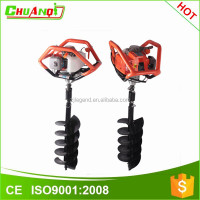 2015 hot gasoline earth auger home use auger drill machine ice drill machine