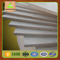 High quality poplar core plywood sheet