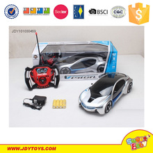 RC remote control car toys, rc car kit 1:14 remote control car with 3D light