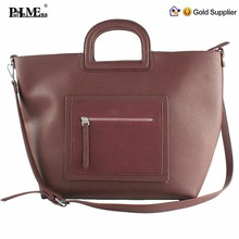 Top selling beautiful lady hand bags famous brand genuine leather woman handbag making in guangzhou woman handbag