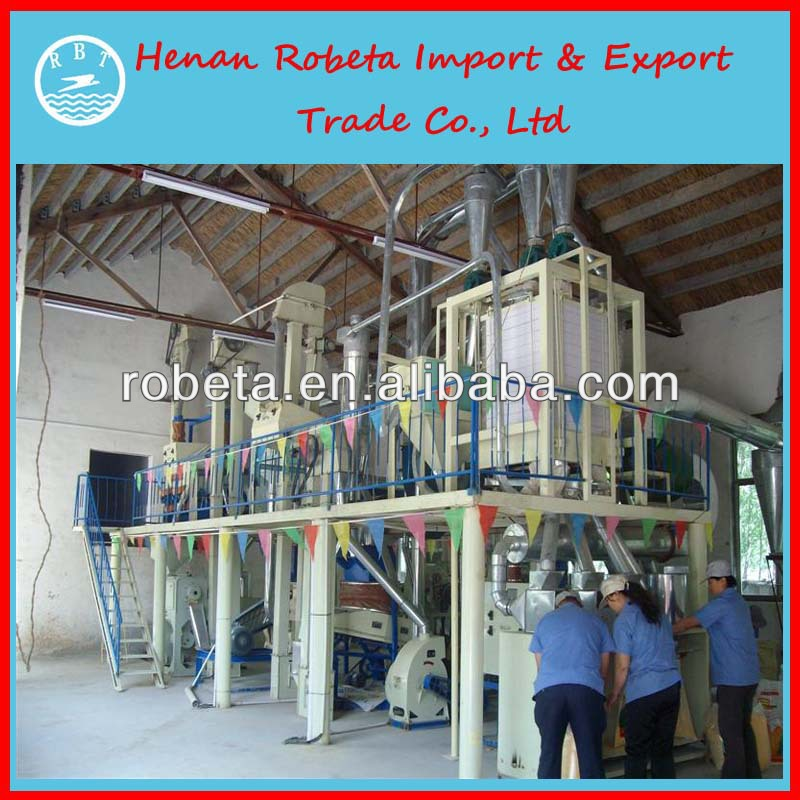 new design fully automatic low price rice flour milling machine