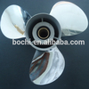Stainless Steel 13 pitches Propeller for Outboard Motor