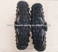 china black motorcycle tyre 100/90-17