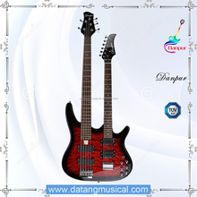 Hot sale 5 string electric bass guitar double neck guitar